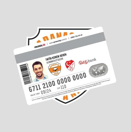 Passolig Adanaspor Kredi Kartı