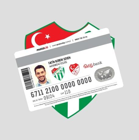 Passolig Bursaspor Kredi Kartı