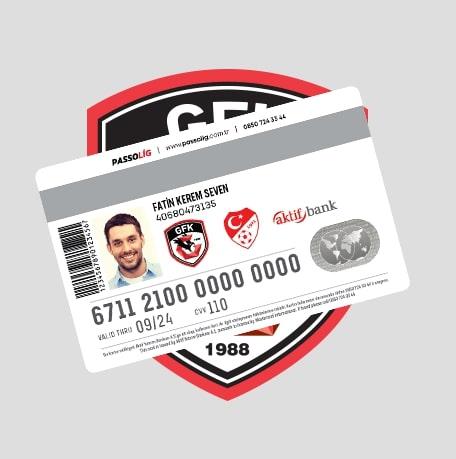 Passolig Gazişehir Gaziantep Futbol Kulübü Derneği Kredi Kartı