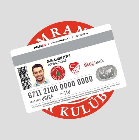 Passolig Osmanlıspor Kredi Kartı