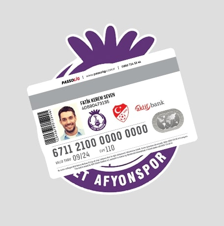 Passolig Afjet Afyonspor Kredi Kartı