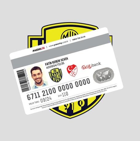 Passolig MKE Ankaragücü Kredi Kartı