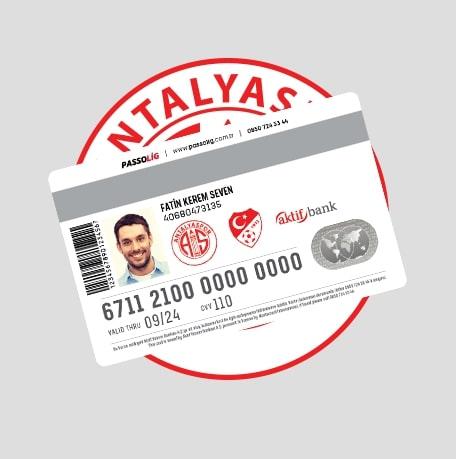 Passolig Antalyaspor Kredi Kartı