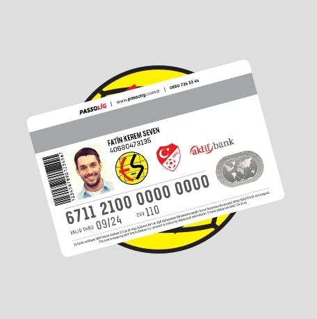 Passolig Eskişehirspor Kredi Kartı