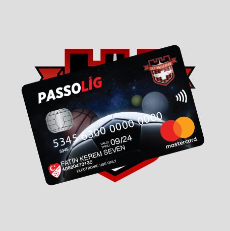 Passolig Gaziantepspor Kredi Kartı