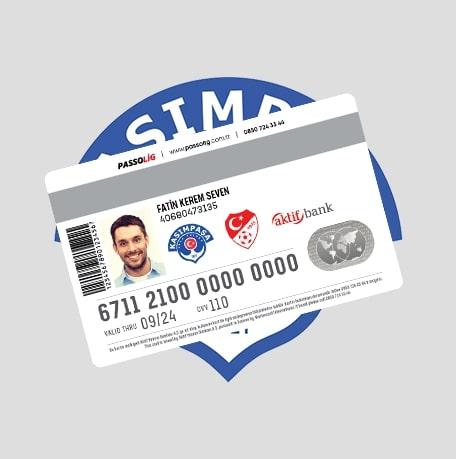 Passolig Kasımpaşa Kredi Kartı