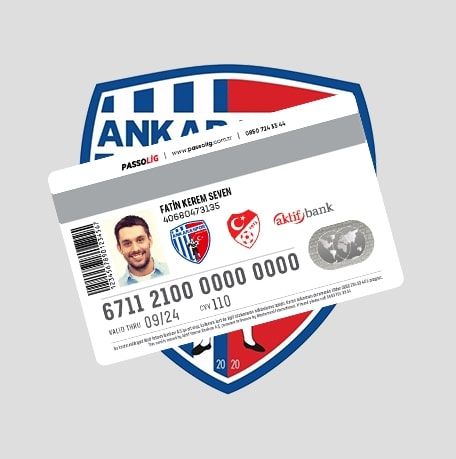 Passolig Ankaraspor Kredi Kartı
