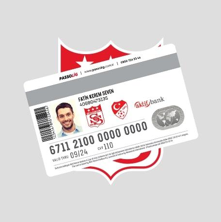 Passolig Demir Grup Sivasspor Kredi Kartı