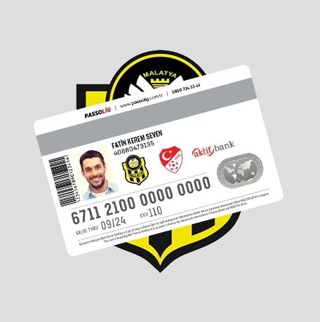 Passolig BTC Türk Yeni Malatyaspor Kredi Kartı